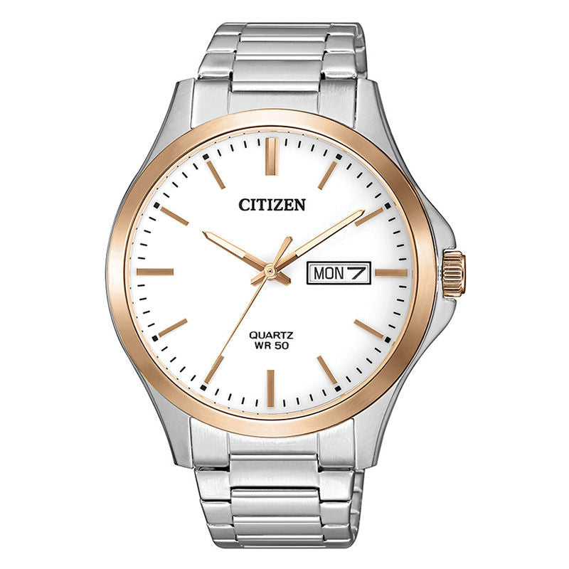 Men's Citizen two tone stainless steel Quartz - BF2006-86A