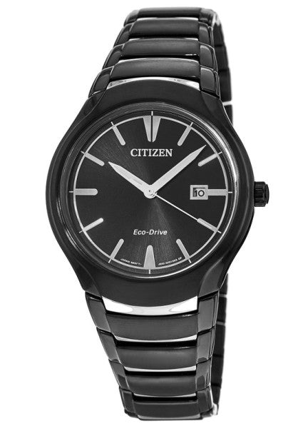 Men's Citizen Paradigm Black Dial Men's Watch Moedel #  AW1558-58E