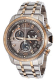 Men's Chrono-Time A-T Eco-Drive Grey Dial Watch Model No. BY0106-55H