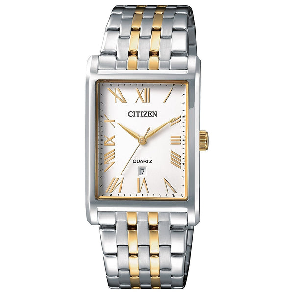 Men's Quatz White Dial  Watch Model No. BH3004-59A