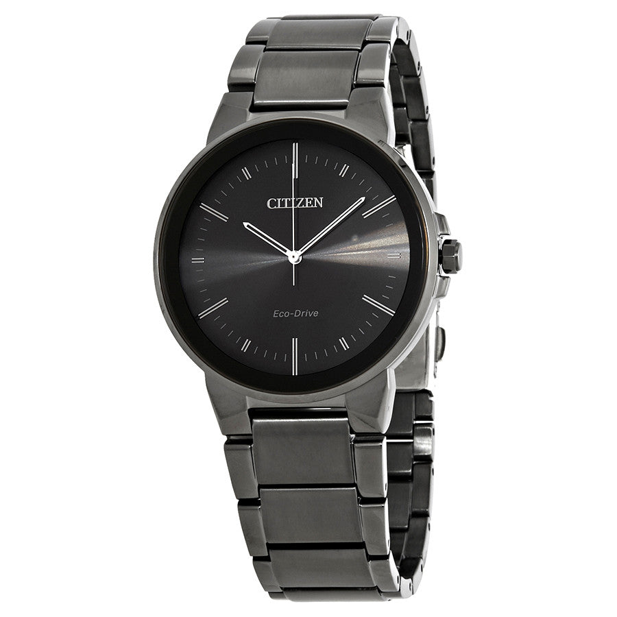 Men's Axiom Black Dial Watch. Model No. BJ6517-52E