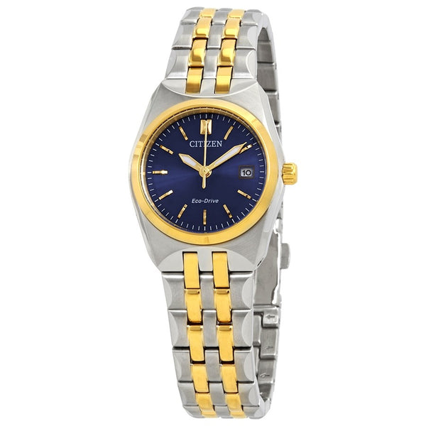 Citizen ladies Corso Eco-Drive Two-Tone Stainless Steel Watch model No. EW2294-53L