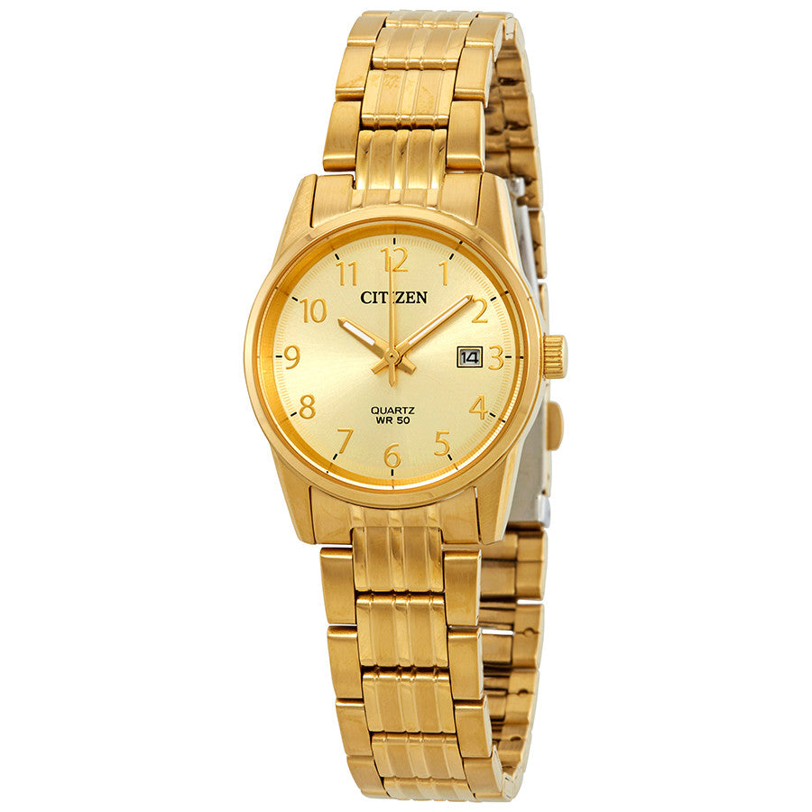 CITIZEN Gold Dial Ladies Watch Model No. EU6002-51Q