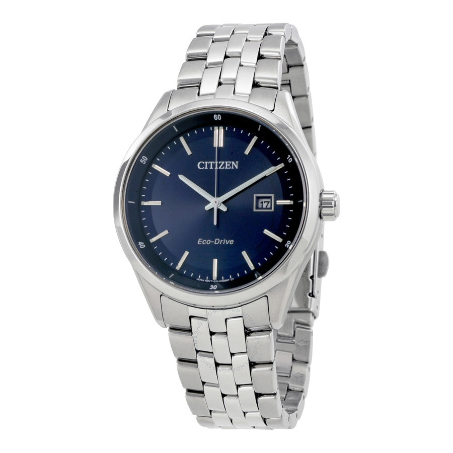 Men's Citizen Blue Dial Eco-Drive Watch. Model No. BM7251-53L