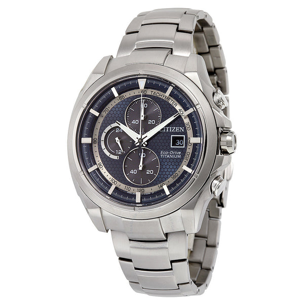 Men's Eco-Drive Blue Dial  Watch Model  No. CA0550-87L