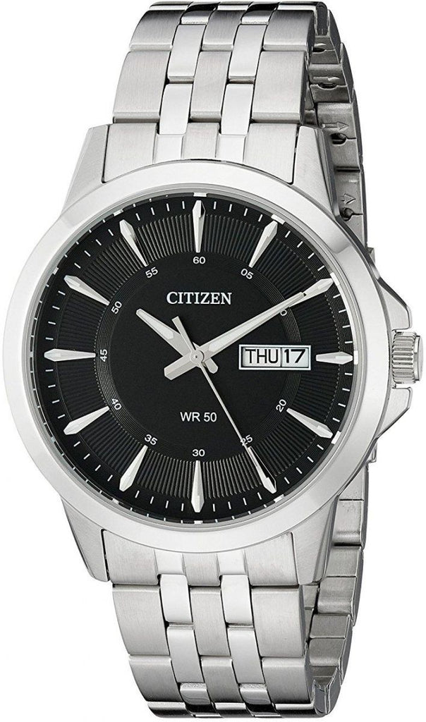 Citizen Quartz Analog  Collection Stainless Steel Bracelet Watch BF2011-51E