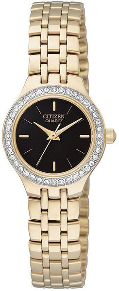 Citizen Analog Ladies Quartz Gold Fashion Dress Watch EJ6042-56E