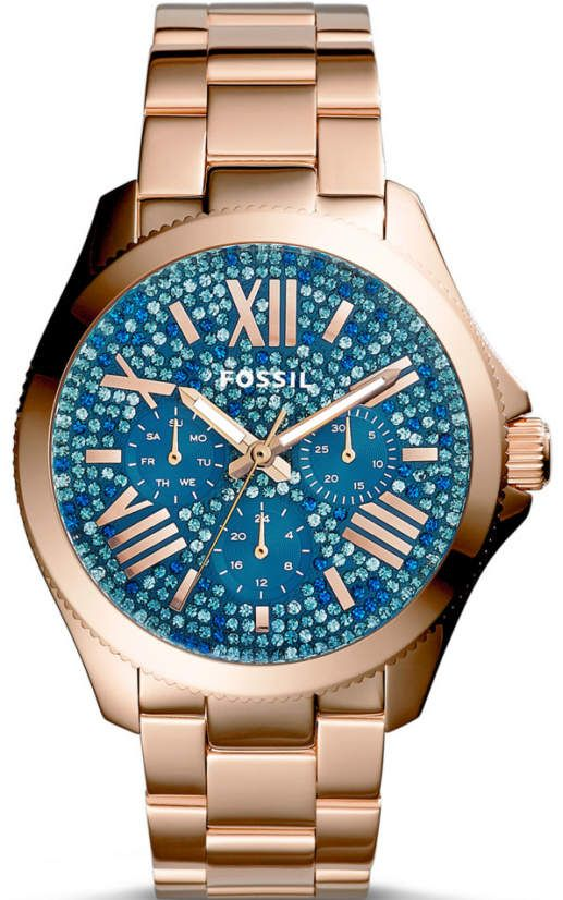 Fossil Analog Blue Dial Women's Watch - AM4556