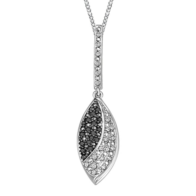 10K NECKLACE G1504P/BK0.20CT DIAMOND