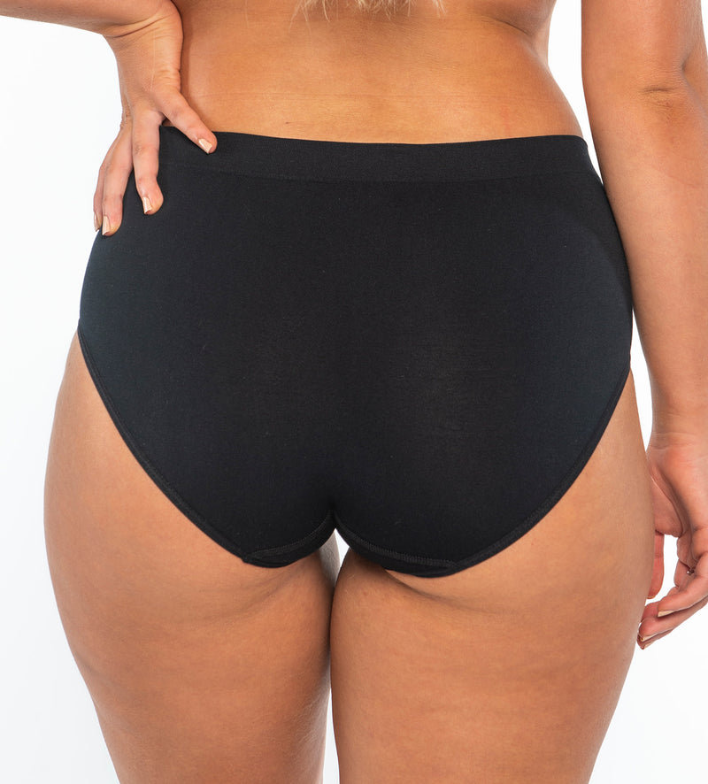 Classic's Black - Vintage Brief