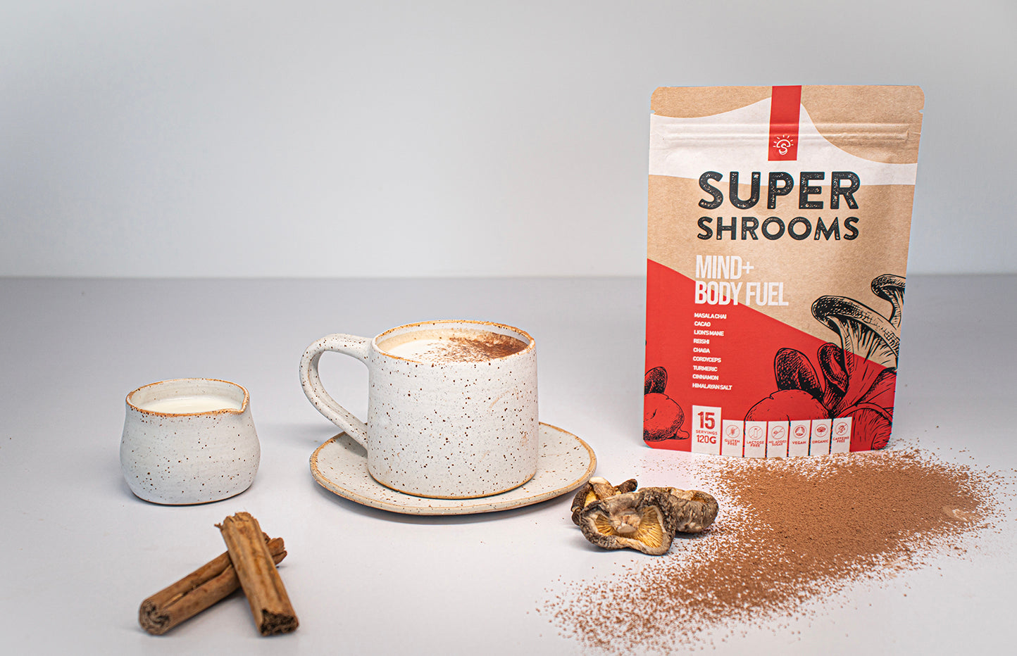 Mind Body fuel -Super Shrooms
