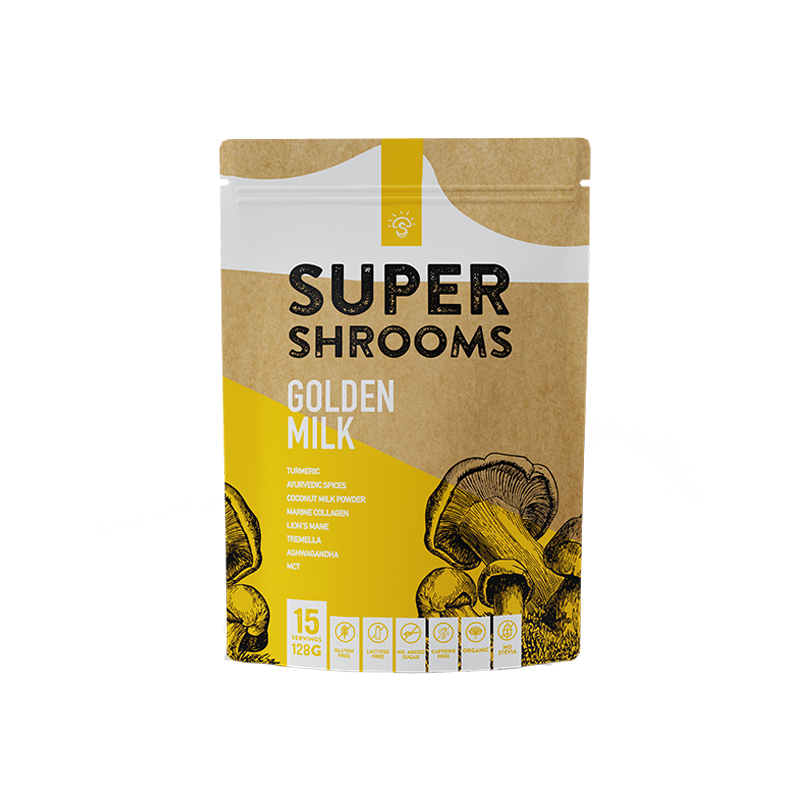 Golden Milk - 15 Serves - Super Shrooms