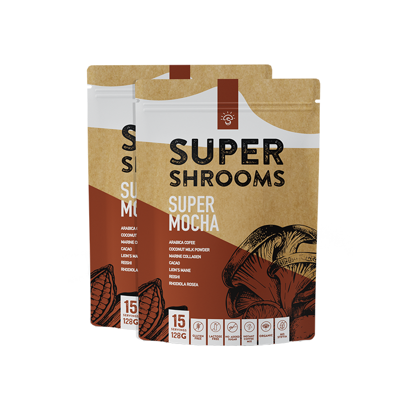Super Mocha - 30 Serves - Super Shrooms