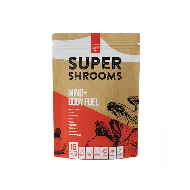 Mind + Body Fuel - 15 Serves - Super Shrooms