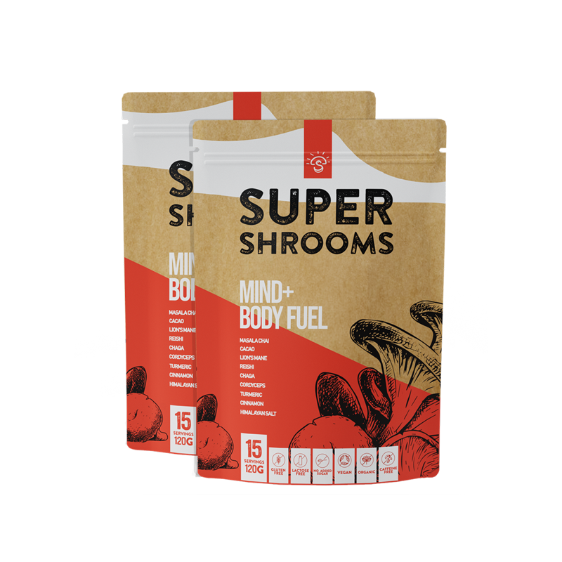 Mind + Body Fuel - 30 Serves - Super Shrooms