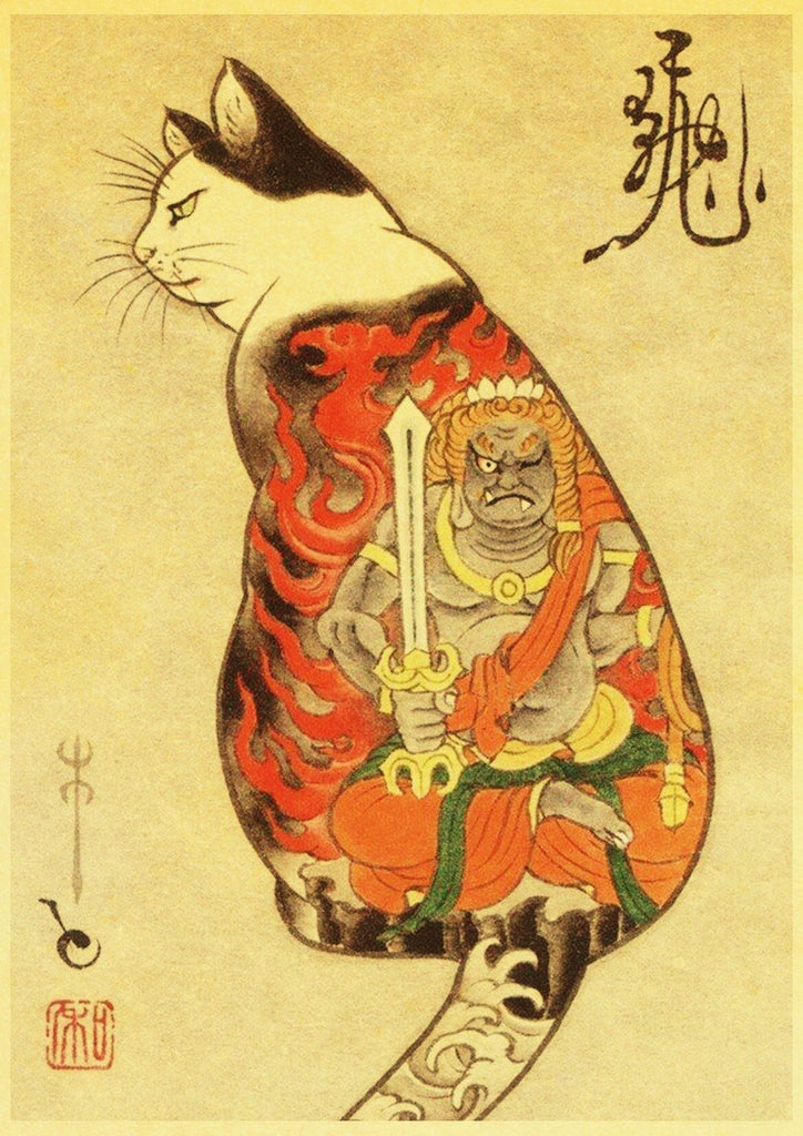 Samurai neko - Ancient Elk
