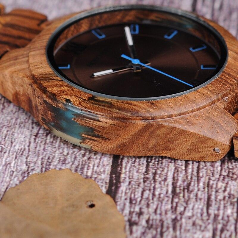 MIDNIGHT AT ZEBRAWOOD & RESIN