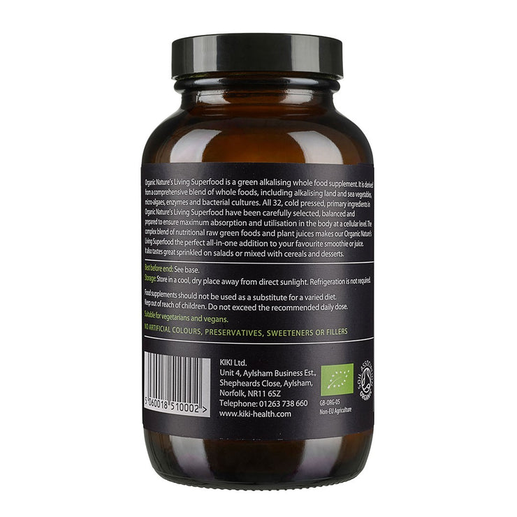 NATURE'S LIVING SUPERFOOD, Organic 150g