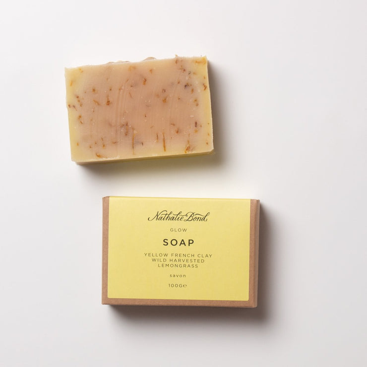 GLOW SOAP BAR - Yellow French Clay