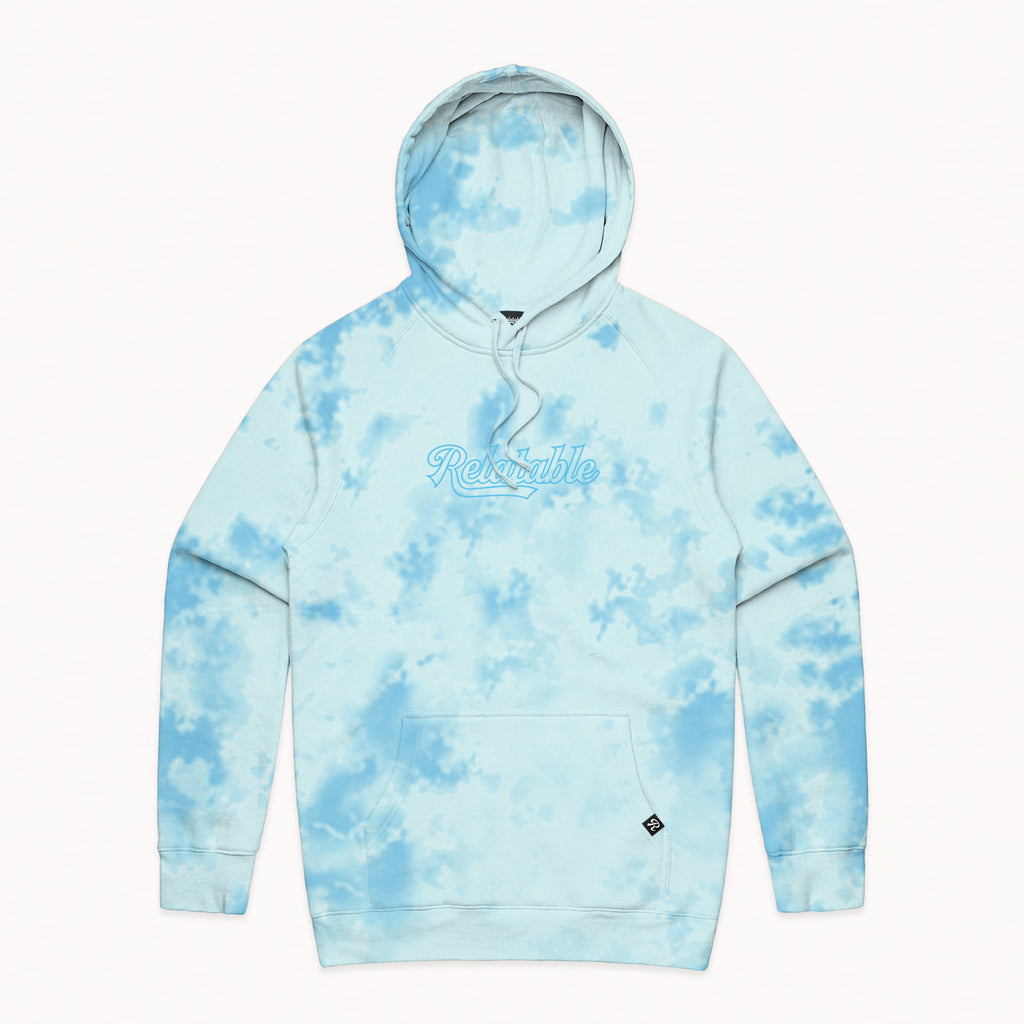 Relatable Lollipop Blue Dye Hoodie