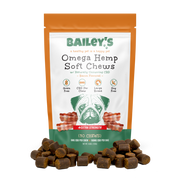 Bailey's Omega Hemp Soft Chews [Bacon] - Xtra Strength - Tribe CBD + Cannabinoids