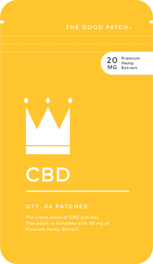 The Good Patch  CBD | 4 Pack