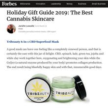 TriBeauty CBD Superfood Mask | 6-in-1: Brightens, Softens, Plumps, Hydrates, Oxygenates, Calms + Protects - Tribe CBD + Cannabinoids