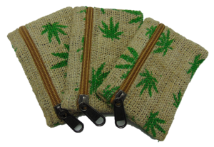 Hemp Leaf Pouch - Tribe CBD + Cannabinoids