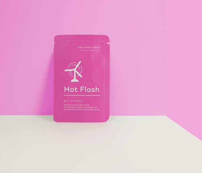 The Good Patch: Hot Flash - Tribe CBD + Cannabinoids