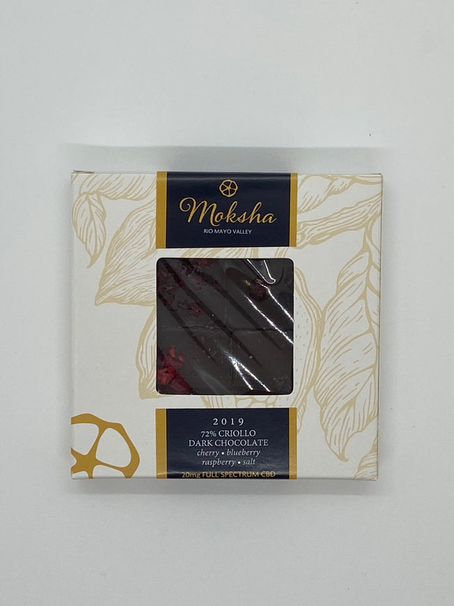 Moksha CBD Dark Chocolate Variety Pack - Tribe CBD + Cannabinoids