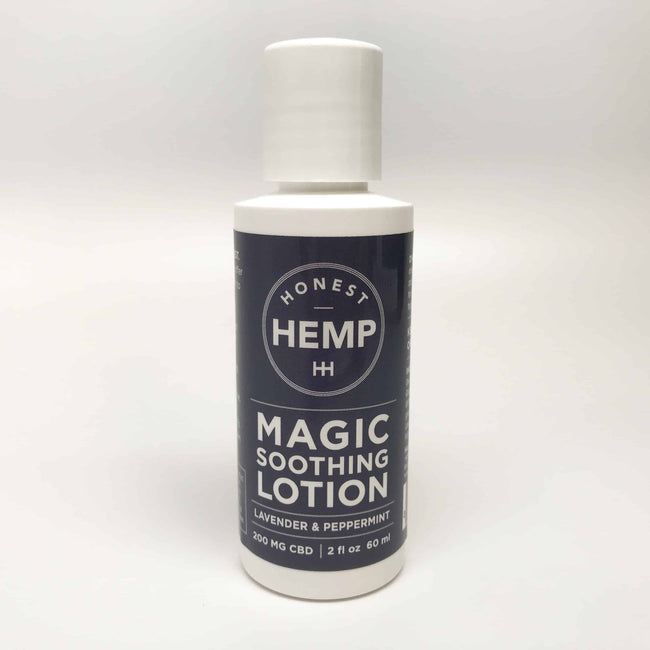 Honest Hemp Magic Soothing Lotion - Tribe CBD + Cannabinoids