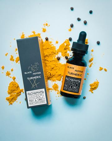 Pachamama Black Pepper Turmeric Tincture - Tribe CBD + Cannabinoids