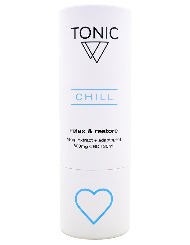 Tonic Chill Tincture - Tribe CBD + Cannabinoids