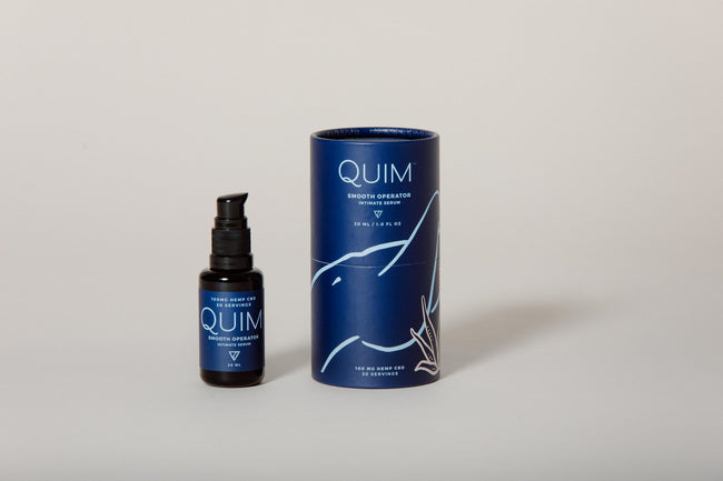 Quim Smooth Operator Intimate Serum - Tribe CBD + Cannabinoids