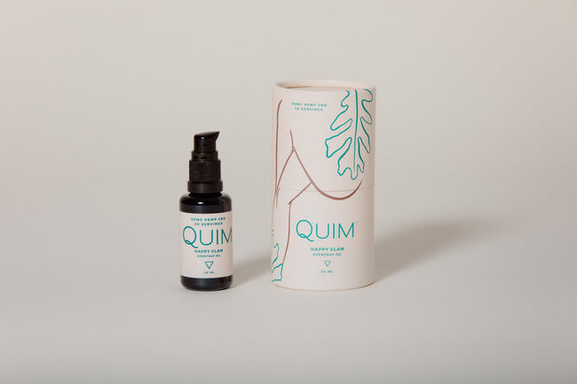 Quim Happy Clam Everyday Moisturizer - Tribe CBD + Cannabinoids