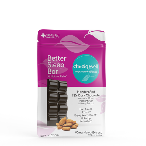 Cheekywell Better Sleep CBD Chocolate Bar - Tribe CBD + Cannabinoids