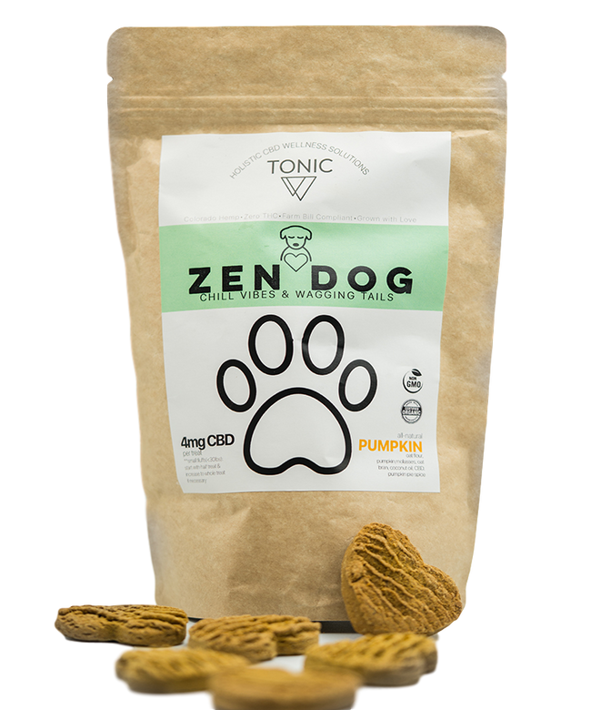 Tonic Zen Dog Pet Treats - Tribe CBD + Cannabinoids