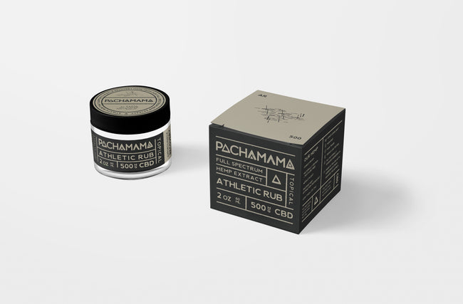 Pachamama Athletic Rub - Tribe CBD + Cannabinoids