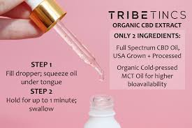 TribeTINCS Full Spectrum Tincture 1500 mg - Tribe CBD + Cannabinoids