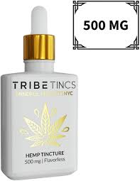 TribeTINCS Full Spectrum Tincture 500 mg - Tribe CBD + Cannabinoids