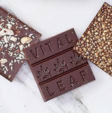 Vital Leaf CBD Mini Chocolate Bars 30 mg - Tribe CBD + Cannabinoids