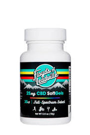Floyd's of Leadville Full Spectrum CBD Softgels 25 mg - Tribe CBD + Cannabinoids
