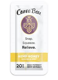 Canna Bees Wildflower Raw CBD Honey Flip Packs - Tribe CBD + Cannabinoids