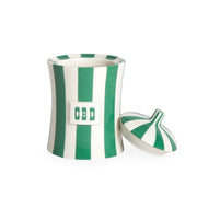 Jonathan Adler Small CBD Canister Black or Green - Tribe CBD + Cannabinoids