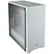 Corsair Carbide Series 275R Mid-Tower ATX Gaming Case; White; Tempered Glass Panel