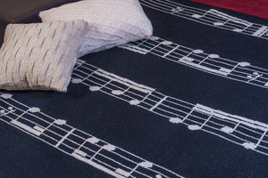 Plaid Notes Musicales