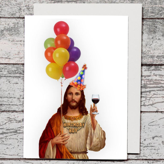Card - Birthday Boy Jesus - The Red Dog Gift Shop