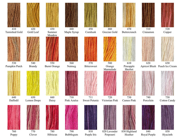 Gentle Arts Sampler Threads Stranded Cotton (Floss) 5 yd skein