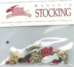 Brett's Stocking - Charm Pack