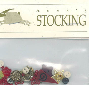 Anna's Stocking - Charm Pack